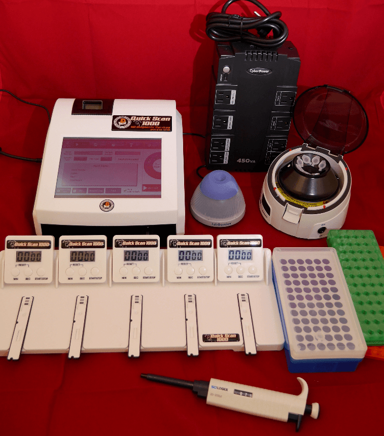 Quick Scan 1000 Accessory kit