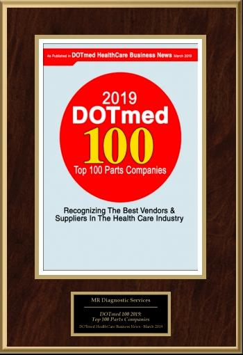 Dot Med Parts Award 2019
